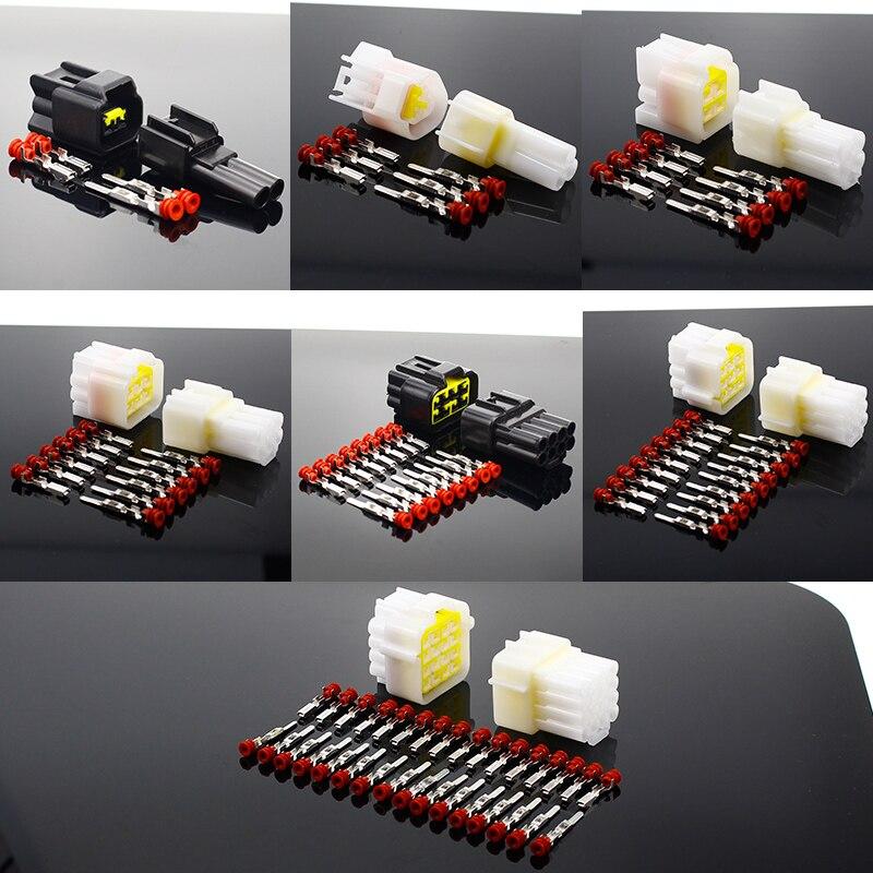 1 комплект, 2/3/4/6/8/9/16 контактный водонепроницаемый проводной разъем, автомобильный герметичный Электрический комплект, автомобильный Грузовик|Соединители|   | АлиЭкспресс
