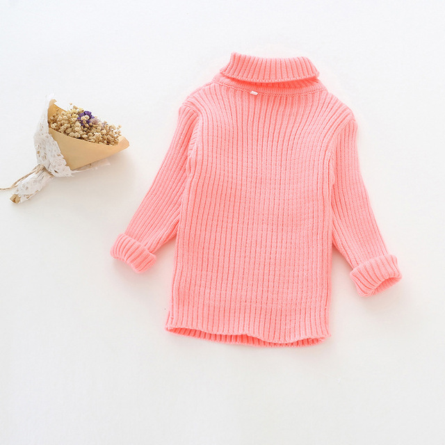 High Quality Cotton Long Sleeve Baby Clothing Stripe Kids Sweater Baby Girls Underwears 2016 Brand New Winter Spring Clothes