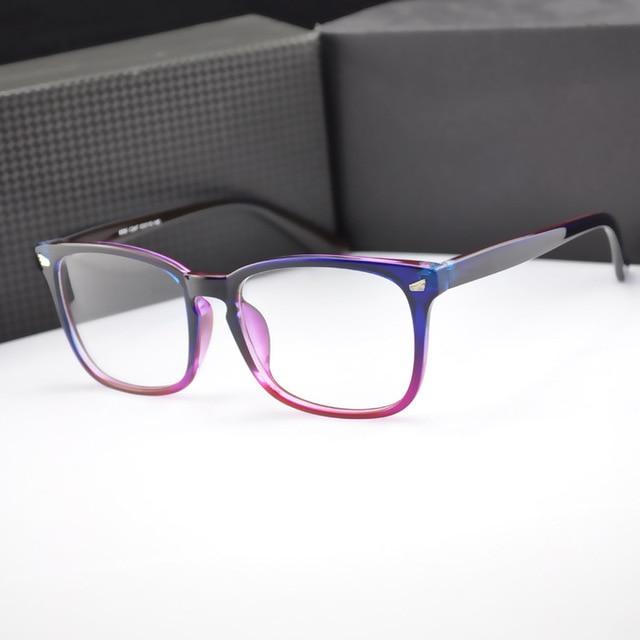 8284e6e35ef68 BOYEDA Quadrados Óculos Vintage Mulheres Óculos Fashion Olho Armação de óculos  Feminino Óculos para Mulheres Dos