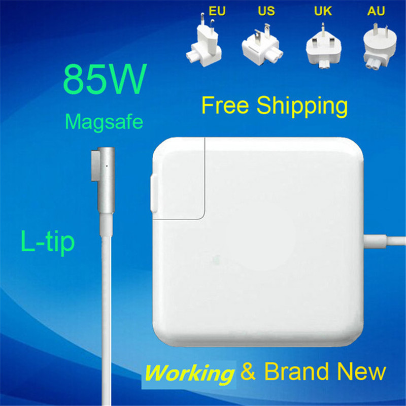 100% New! 18.5V 4.6A 85W Laptop MagSaf* Power Adapter Charger For Apple Macbook Pro 15'' 17'' A1222 A1260 A1286 A1343 9