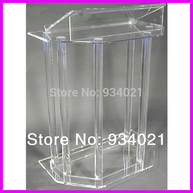 church pulpit Handmade Acrylic Lectern Clear Acrylic Church Pulpit Perspex Lectern for Church free shipping organic glass pulpit church acrylic pulpit of the church
