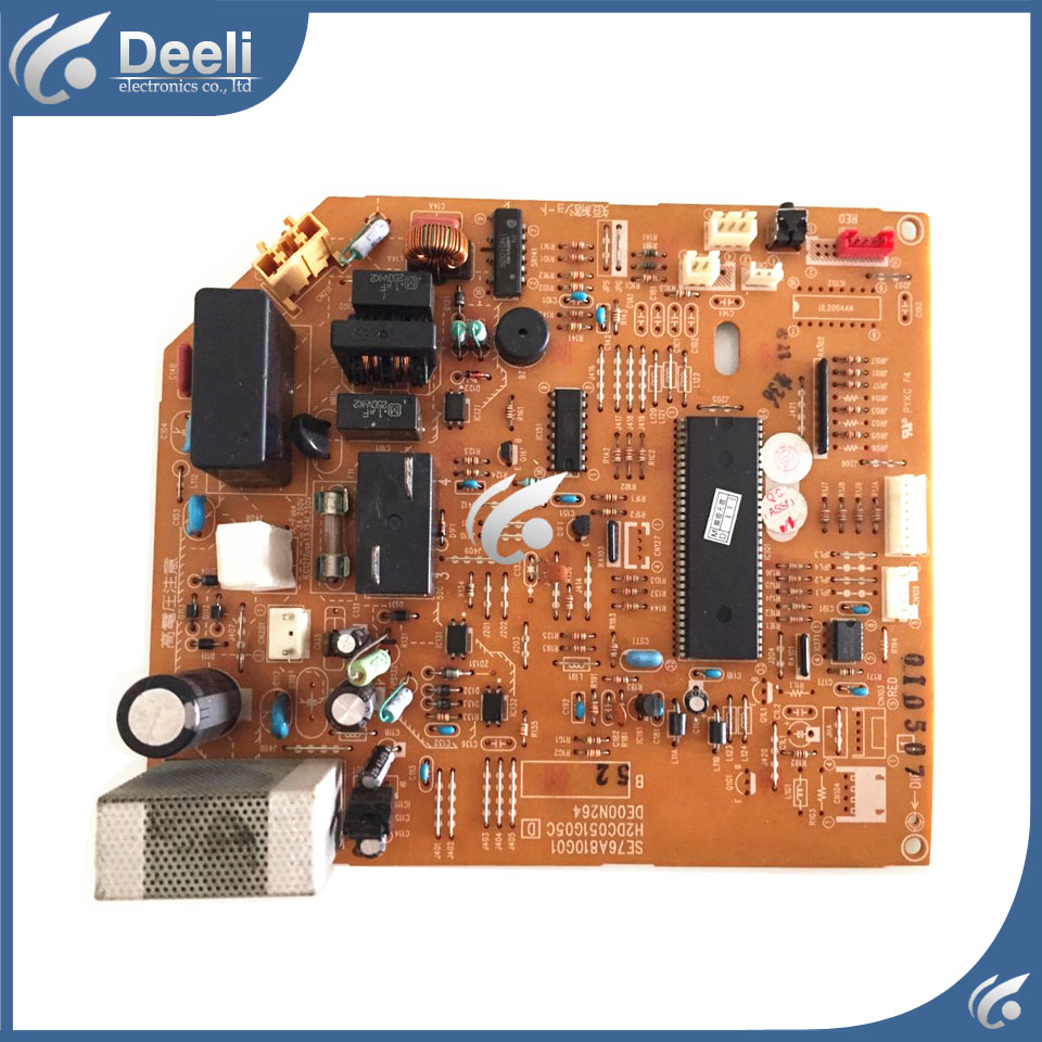 95% new good working for Mitsubishi air conditioning motherboard SE76A810G01 DE00N264 H2DC051G05c MSH-J12TV used board  new air conditioning compressor 20y 810 1260 for new pc200 8 pc220 8