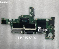 Lenovo ThinkPad i5-5300 T450 laptop motherboard CPU motherboard FRU: 00HN525 teste completo frete grátis