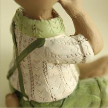 Resin Bunny Figurine