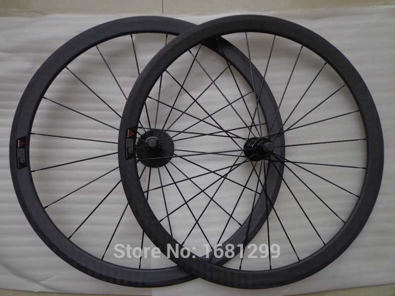 New 700C 38mm clincher rim Road bike matt 12K full carbon fibre bicycle wheelsets aero spokes 20.5/ 23/ 25mm width Free shipping 26er full carbon fiber 100mm width snow fat bike rim black disc brake bicycle rim
