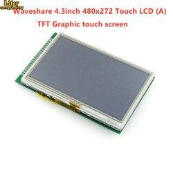4.3 cal 480x272 dotykowy ekran LCD (A) 40pin kabel LCM wyświetlacz TFT moduł ekranu dotykowego wyświetlacz LCD moduł