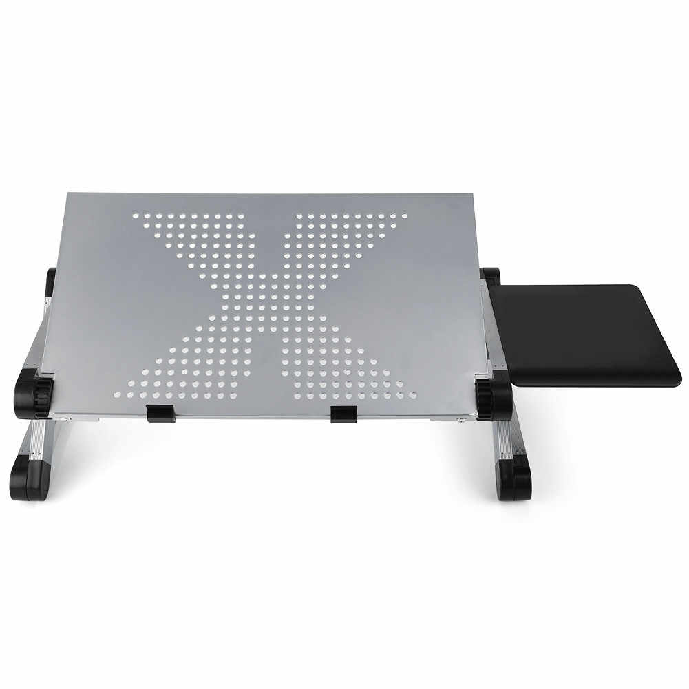 מתקפל שולחן מחשב נייד שולחן מחשב מתכוונן Stand מגש מיטת ספת פנאי עיצוב מעמד שולחן עבור Ultrabook
