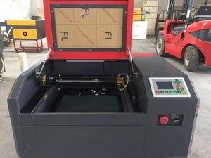 Image 2 - Máquina de grabado láser Co2 4040 de 50W para cortar madera contrachapada, madera, MDF, acrílico, cristal, vidrio, papel, plástico, plexiglás