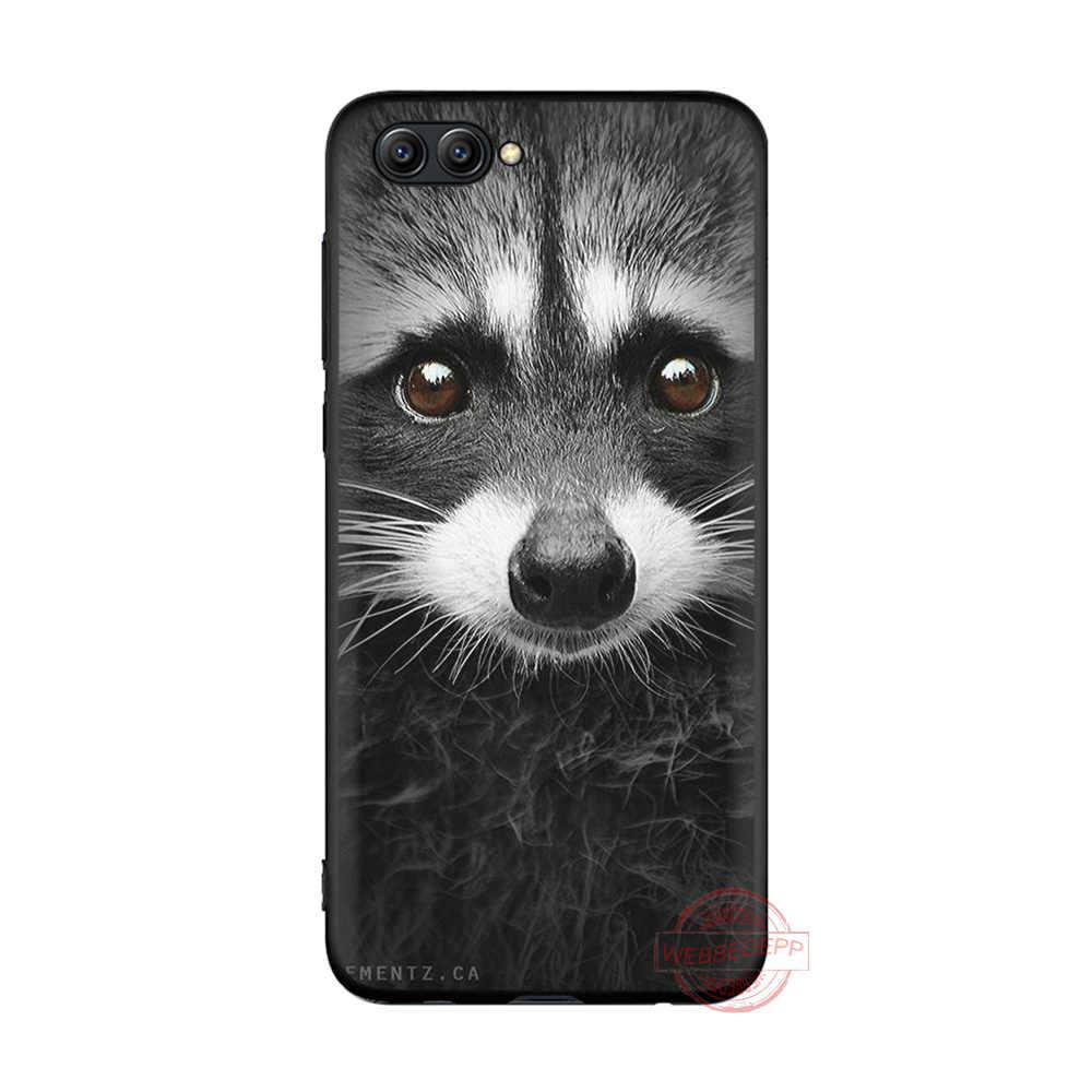 Webbedepp Hewan Rakun Rubah TPU Phone Case untuk Kehormatan 6A 7A 2 GB/3 GB PRO 7C 5.99in 7X 8X 8C 9 10 Note10 untuk Kehormatan 8 9 10 Lite