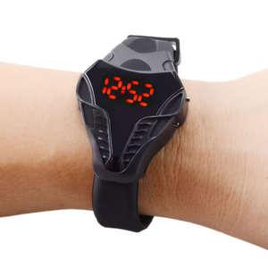 Men Watch Cobra Digital Display Leisure Triangular's Silicone New-Fashion Branded