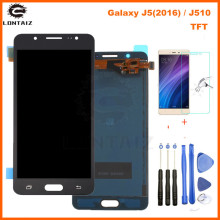 For Samsung Galaxy J510 J510FN J510F J510G J510Y J510M Display Touch Screen Digitizer Assembly For Samsung J5 2016 LCD Screen aaa quality j510 lcd for samsung galaxy j5 2016 lcd j510fn j510f j510g j510y j510 display touch screen digitizer assembly