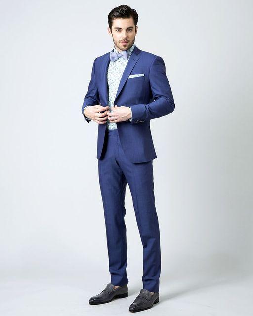 Aliexpress.com : Buy Latest Coat Pant Designs Navy Blue Formal ...