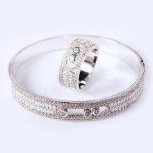 Same Bracelet Series Hot Style Jewelry Micro Inlaid Stone Skylight with Round Eye Classic