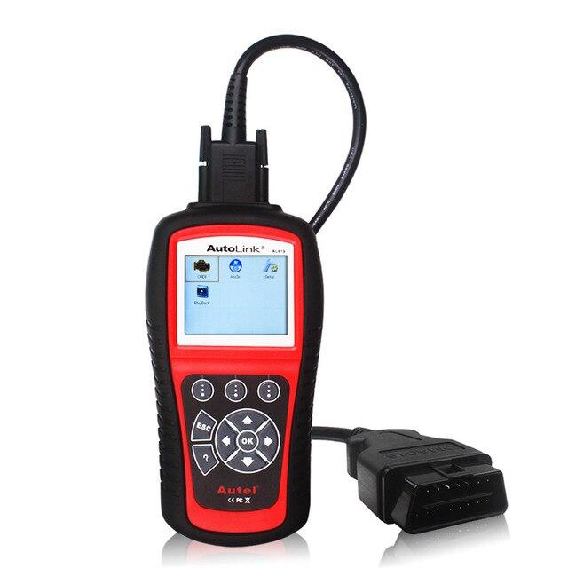 Automotive Scanner Original Autel AL619 OBD2 Scanner for Engine ABS SRS Airbag Air Bag Crash Data Reset Car Diagnostic Tool