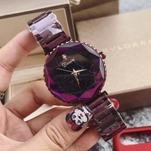Top Brand Luxury lady Crystal Watch Womens Dress Watch New Fashion Rose Gold Watches Female Stainless Steel Quartz Wristwatches