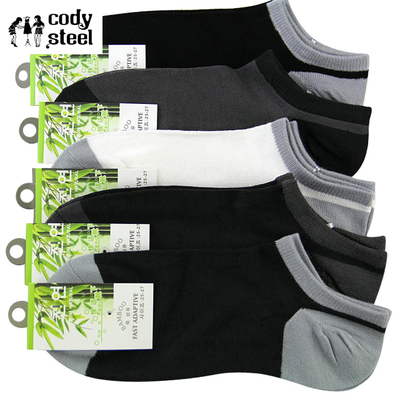 Persevering Cody Steel Casual Socks Men Bamboo Mixed Colors Fashion Socks Brand Men All-match Invisible Socks Male 10pairs/lot Underwear & Sleepwears