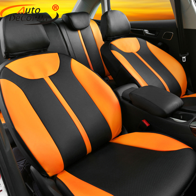 Autodecorun Custom Cover Seats Cars Pu Leather For Jeep