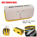 A boxing bag purse a superman male Saitama cartoon characters of large capacity double zipper bag wallet
