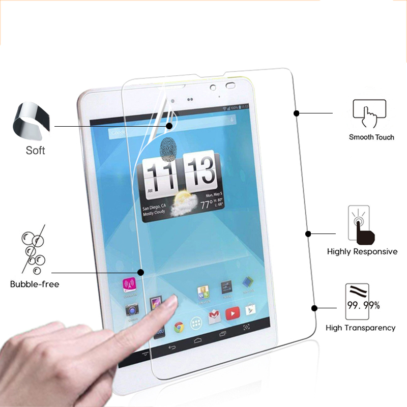 Best Quality High Clear Glossy Screen Protector Film For Trio Axs 4g 7 85 Tablet Front Hd Lcd Screen Protective Films Tools Tablet Protective Film Film Protection Tabletfilm For Tablet Aliexpress