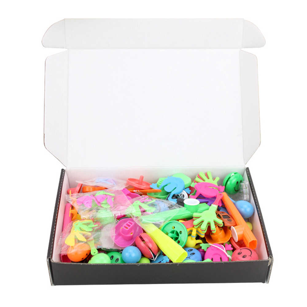 100 Pcs Birthday Pinata Fillers Party Supplies Giveaways Prizes  Classroom Treasure Box Party Gift Favors Assorted Small Toys Se
