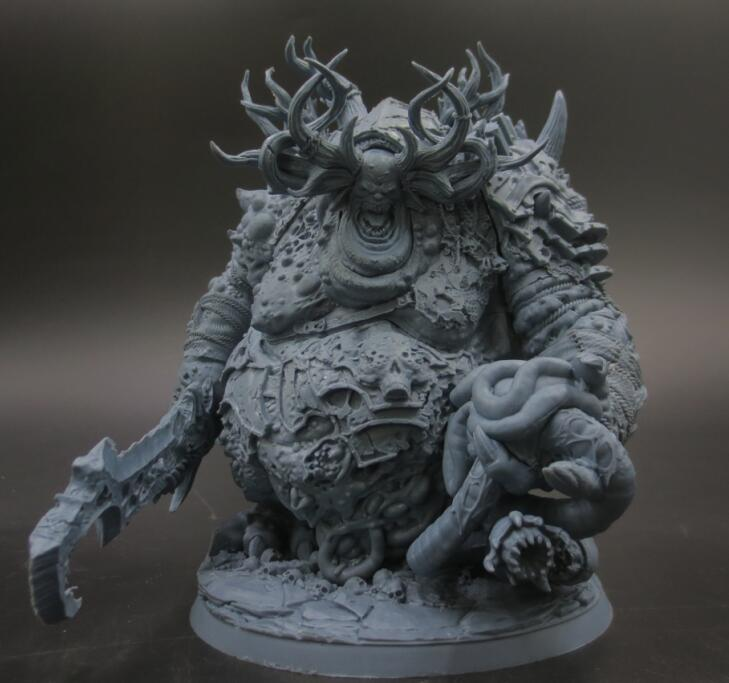 Get Coupon USD 4 New Resin Figures 160mm King of Ruin Model Kits