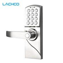 LACHCO электронный кодовый дверной замок цифровой смарт-клавиатура пароль+ резервный ключ умный вход L16070BS