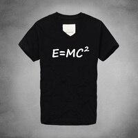 บิ๊กแบงทฤษฎีวิวัฒนาการของEinsteinมวลพลังงานสมE = mc ^ 2พิมพ์เชิ้ตแบรนด์