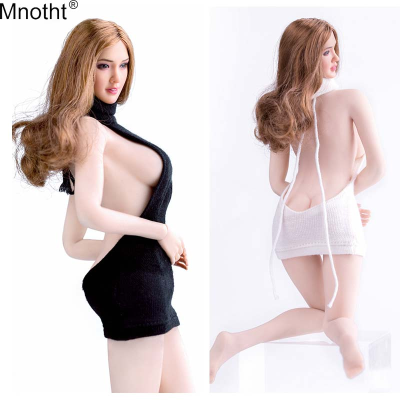 Mnotht 1:6 Scale Vcf2001 Sexy 12 Female White Lace Garter Stockings Socks Female Soldier Sexy Clothes For 12in Female Body 2019 Official Toys & Hobbies
