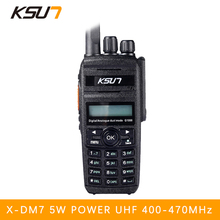 BUXUN digital walkie talkie 400-470MHz X-DM7 protable radio DMR transmitter Digital dual-use model Two way radio