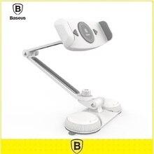 Baseus 5.5-15 Inch Wit Lazy Bracket For iPad Mini Air 2 3 4 Tablet PC Desktop Phone holder Socket
