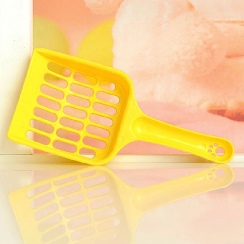 New 1 Pcs Useful Cat Litter Shovel Pet Cleanning Tool Plastic Scoop Cat Sand Cleaning Products Toilet For Pet Dog Food Spoons Y6 #2