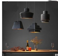 Personalized Fashion Retro Loft American Retro Bar Dining Room Lamp Glass Pendant Lights Industrial Wind Lamp