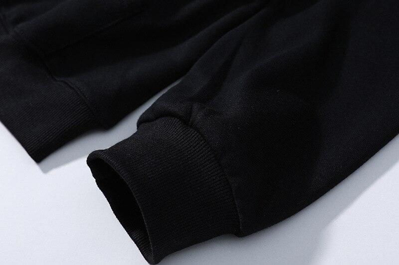 À Hip D'hiver Tops De Mode Enfants Yohoo Femmes Capuche Coton Hoodies Version 2018 Hommes Shirts Top Hop Streetwear Imprimé 1 Noir 1 5Ew4Hq0x