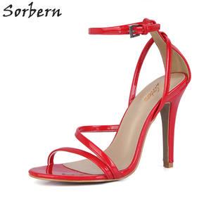 1f870375258462 Sorbern Summer High Heels Shoes Women S Sandals Open Toe