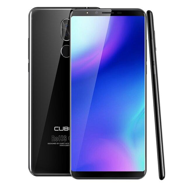 "CUBOT X18 плюс 5,99 ""FHD + Android 8,0 смартфон mt6750t восемь ядер 20MP двойной задней камеры 4 ГБ 64 ГБ отпечатков пальцев 4000 мАч мобильного телефон"
