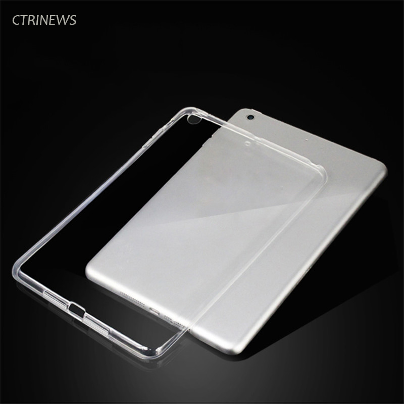 CTRINEWS Silicone Case For Apple Ipad 10 5 inch Soft Transparent Crystal TPU Back Cover For