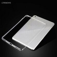 CTRINEWS Funda de Silicona Para Apple Ipad 10.5 pulgadas Suave de Cristal Transparente de TPU de La Contraportada Para El Ipad 10.5 Tablet Funda de Protección