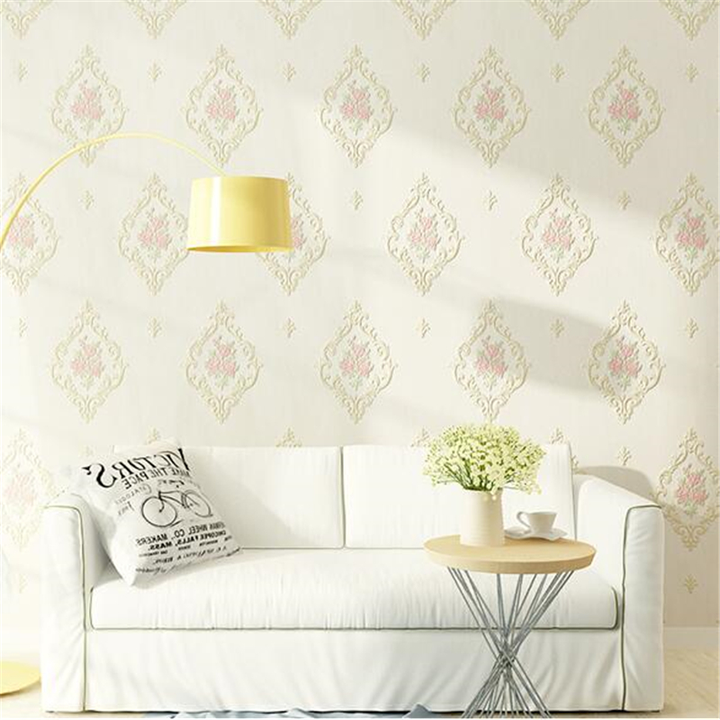 beibehang papel de parede para quarto Non-woven garden wallpaper TV background wall 3D wallpaper living room bedroom wall paper beibehang papel de parede 3d dimensional relief korean garden flower bedroom wallpaper shop for living room backdrop wall paper page 8