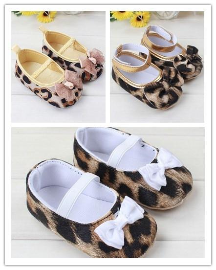 Aliexpress.com : Buy newborn baby girl leopard baby walker shoes ...