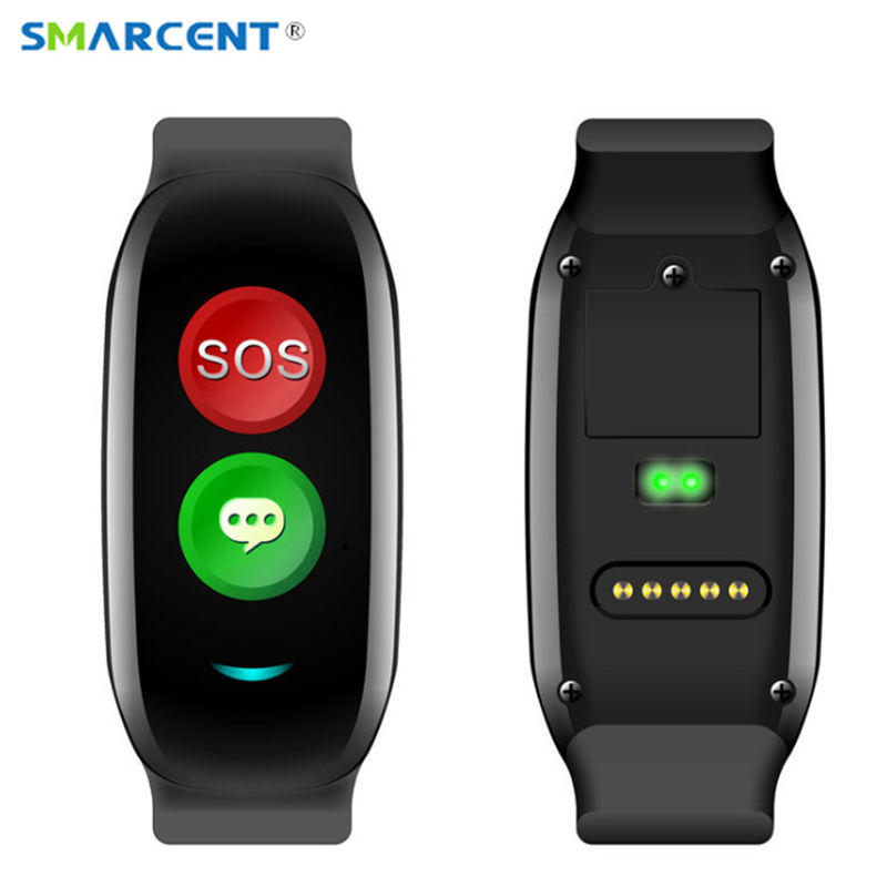 H02 Old Man Smart band Support GPS WIFI LBS Positioning Smart Band Blood Pressure heart rate monitor Tracker Bracelet Wristband english smart watch d100 elderly heart rate monitor fall down alarm function gps lbs wifi tracker montre connecter android f36