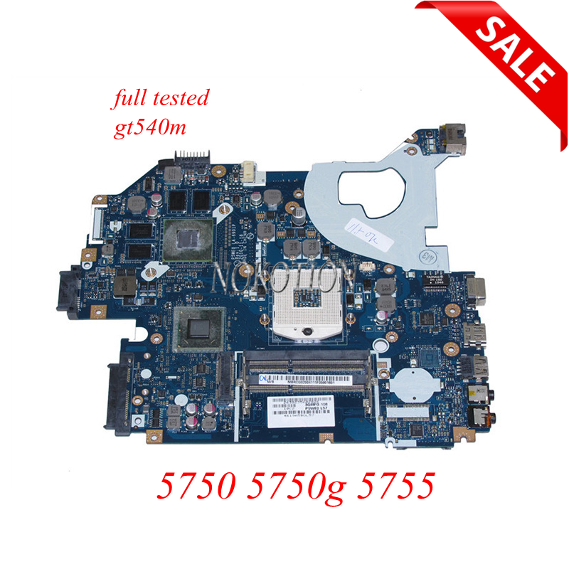 NOKOTION Laptop Motherboard For Acer Aspire 5750 5750g 5755 P5WE0 LA-6901P MBRCG02005 MB.RCG02.005 gt540m Main Board full tested материнская плата для пк for gateway mbrcg02005 nv57 acer aspire 5750 mb rcg02 005 p5we0 6901p nv57 5750 laptop motherboard page 3