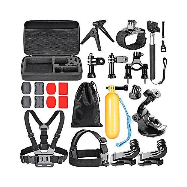 МАХА Спорт Набор Аксессуаров для GoPro Hero4 Session Hero1 2 3 3 + 4 SJ4000 5000 600 в Плавание Кемпинг Дайвинг Спорта На Открытом Воздухе