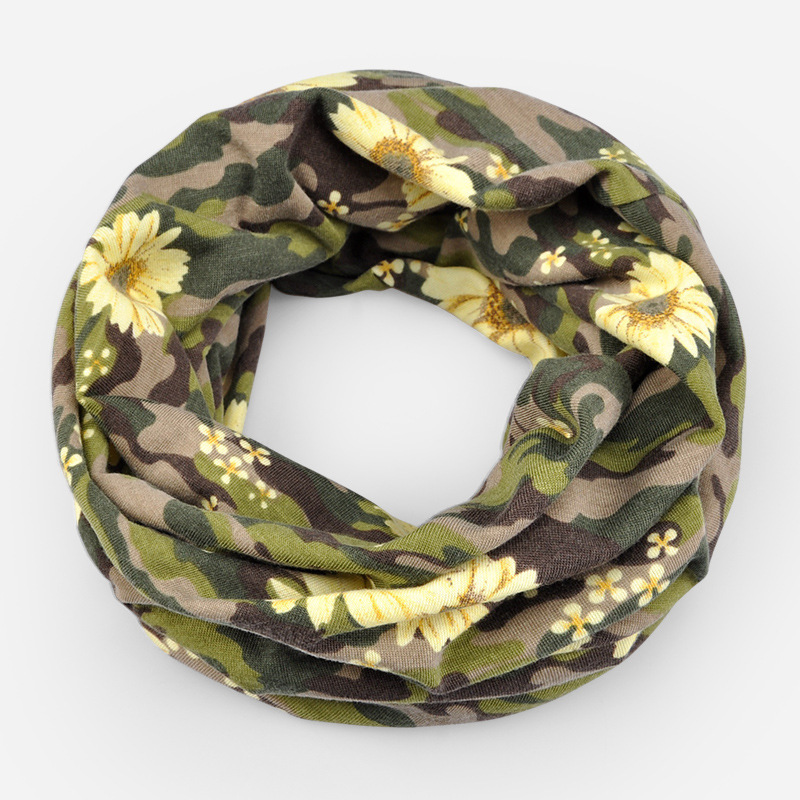COKK Hats For Women Turban Hat Camouflage Flower Beanie Men Bonnet Bone Head Cap Mask Collar Scarf Baggy Cap Hip Hop Skullies in Men 39 s Skullies amp Beanies from Apparel Accessories