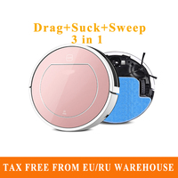 Hot Original 3 In 1 V7s Pro Robot Vacuum Cleaner Robot Vacuum With Self Charge Wet
