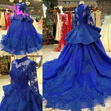 Aijingyuウェディングドレス女性の高級ブライダルローブメーカー最新inexpensives frocksのウェディングドレス2021 2020