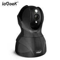 IeGeek House Safety Surveillance Camera Built In Antenna Mini Rotating Dome Wifi Camera Baby Old Pet