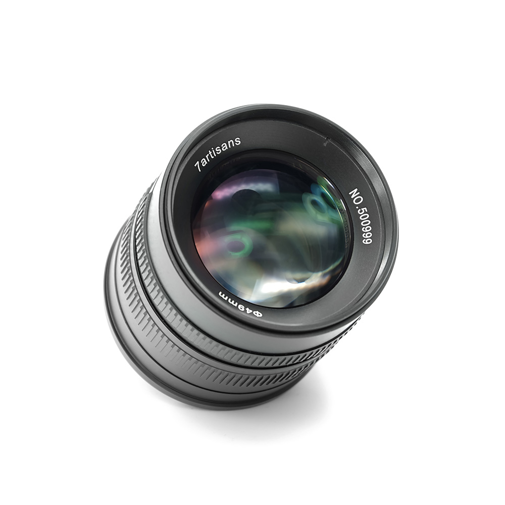 7artisans APS-C 55mm F1.4 Manual Fixed Lens for Fuji X Mount Cameras X-A1 X-A10 X-A2 X-A3 X-AT X-M1 XM2 X-T1 X-T10 X-T2 X-T20