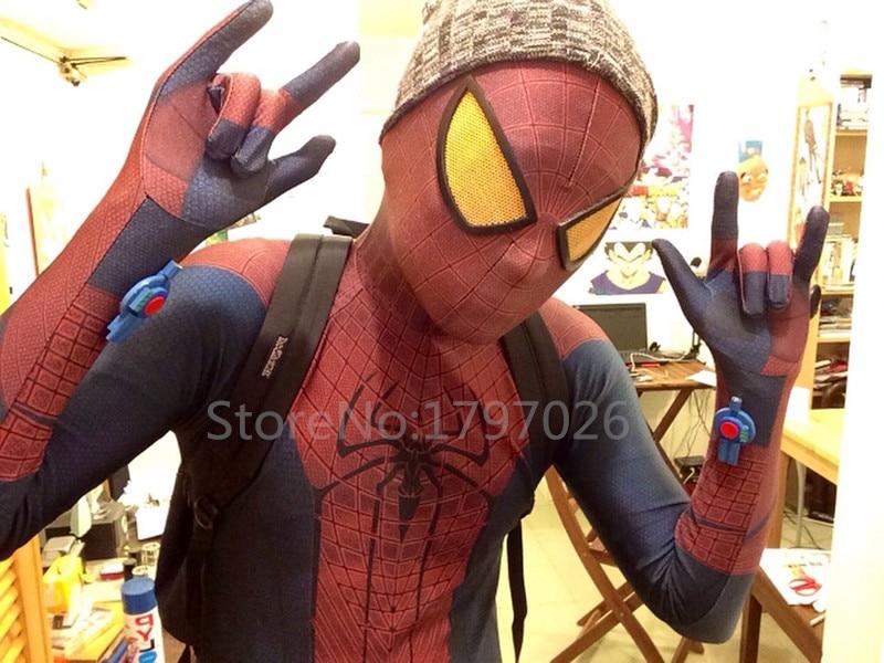 <font><b>Amazing</b></font> Halloween Superhero <font><b>Spiderman</b></font> <font><b>2</b></font> Pattern Zentai Suits, Aveners Women Men <font><b>Kids</b></font> <font><b>Spiderman</b></font> <font><b>Costume</b></font> With Eyemask and Shoes