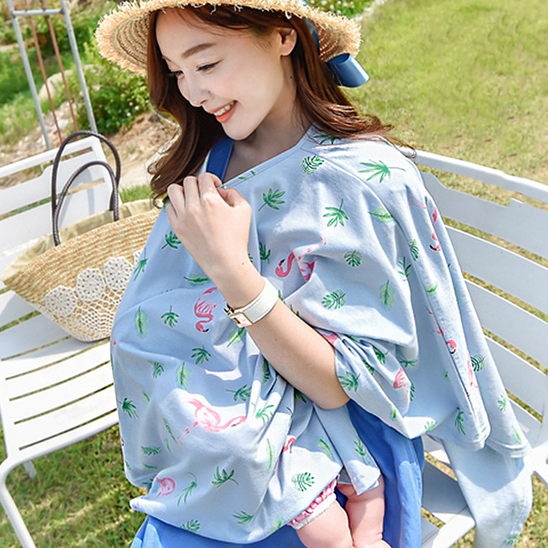 Brand Woman Lactation Clothes for 2018 Nursing Towel Pregnancy Shawls Postpartum Nursing Clothes Multi-function Costume