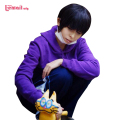 L-email Anime Matsuno Osomatsu Cosplay Wigs Men's Black Short Synthetic Hair